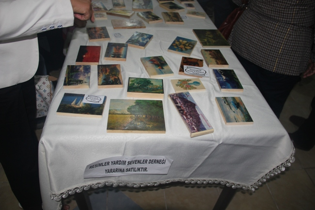 FESTİVALDE AYNI ANDA DÖRT SERGİ BİRDEN AÇILDI galerisi resim 33