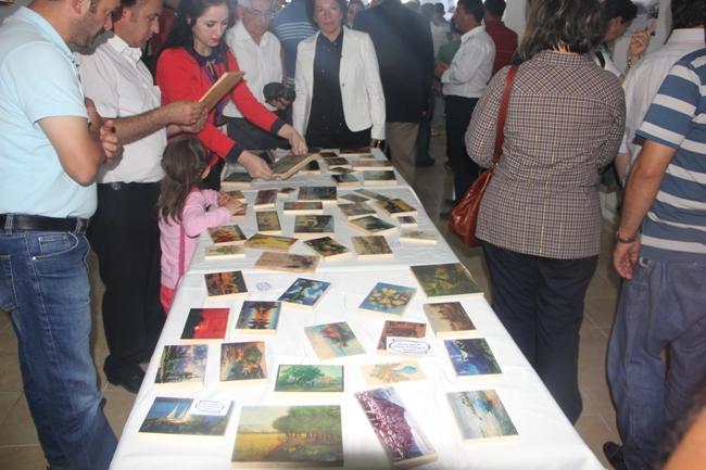 FESTİVALDE AYNI ANDA DÖRT SERGİ BİRDEN AÇILDI galerisi resim 34