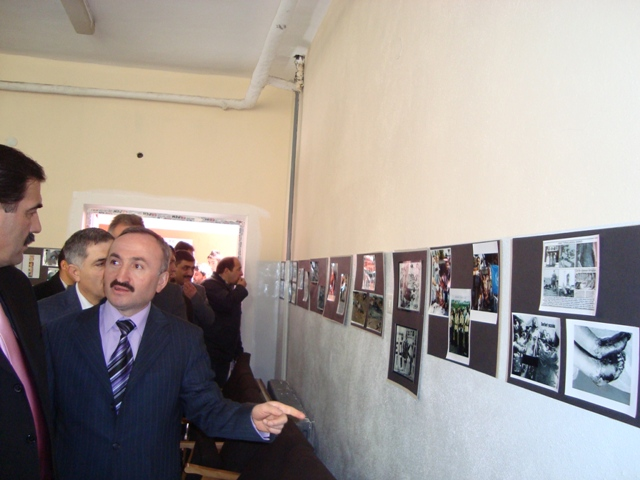 Tarihte Türklere Yapılan Katliamları Unutmadık. Adlı Sergi galerisi resim 11