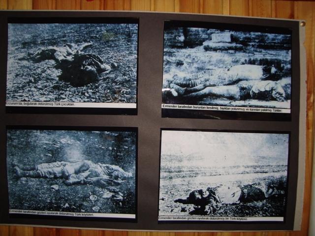 Tarihte Türklere Yapılan Katliamları Unutmadık. Adlı Sergi galerisi resim 14