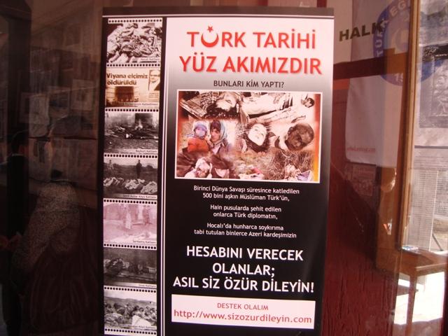 Tarihte Türklere Yapılan Katliamları Unutmadık. Adlı Sergi galerisi resim 23