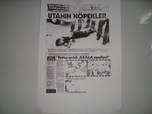 Tarihte Türklere Yapılan Katliamları Unutmadık. Adlı Sergi galerisi resim 34