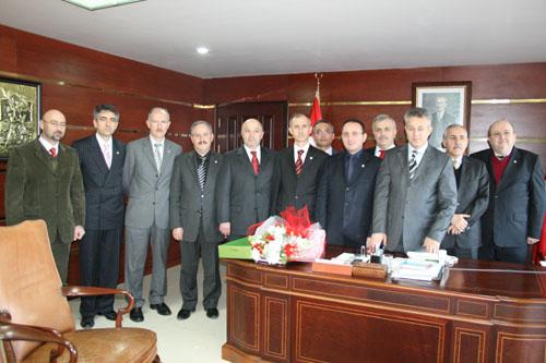 TSO Yönetimi Valimizi Ziyaret Etti