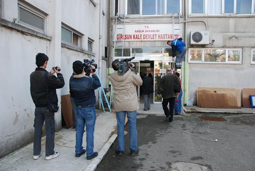 Tıp Fakültesi Binası Yerel Basına Gezdirildi