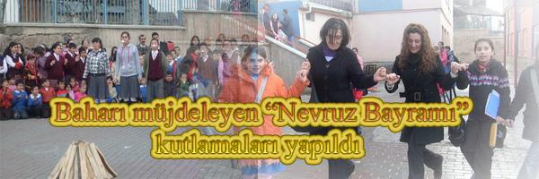 Baharı müjdeleyen Nevruz Bayramı kutlamaları yapıldı