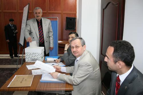 Merkez İlçe KHGB Seçimi Yapıldı