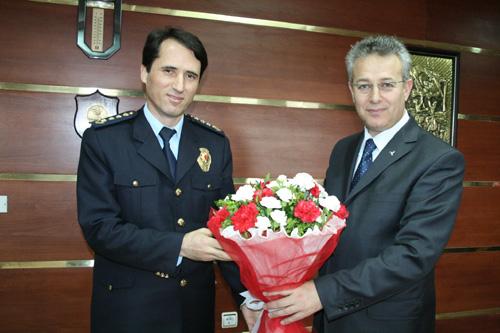 Polis Haftasında Valiliğe Ziyaret