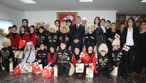 Gürcü Öğrencilerden Ziyaret