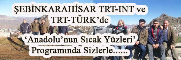 ŞEBİNKARAHİSAR TRT DE