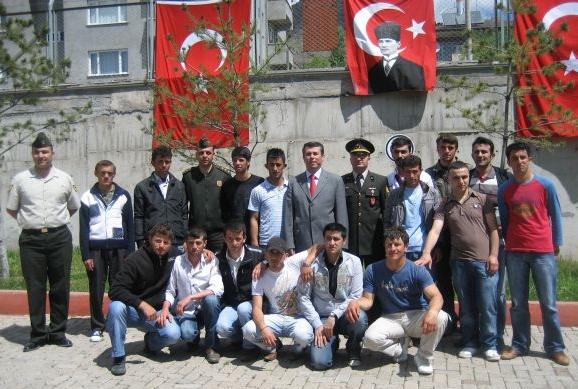 1989/2 Tertip Erbaş ve Erlerin Askere Sevk Evraklarını Verme Töreni Yapıldı