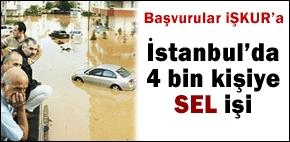 İstanbul'da 4 bin Kişiye İş Fırsatı