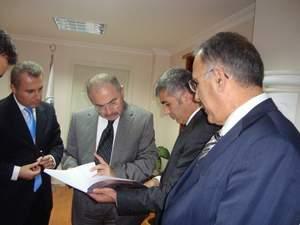 Giresun Valisi Mustafa Yaman İlçemizi Ziyaret etti