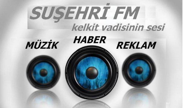 Suşehri Radyo Tv ve www.susehri.com.tr Artık ortak yayında
