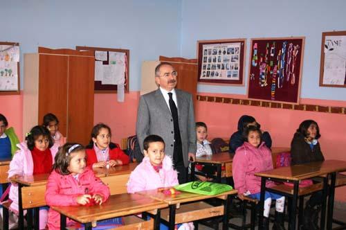 Vali Yaman Alucra'da İncelemelerde Bulundu