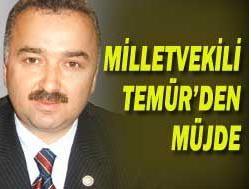 TEMÜR'DEN GİRESUN'A MÜJDE