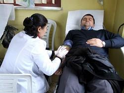 Suşehri'nde Kızılay'dan Kan Bağışı Kampanyası