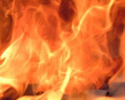 Koyulhisar da Yangın