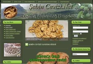 Şebin Cevizi tanıtım sitesi