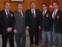 Şebinkarahisarlılar Veysel Eroğlu'nu Ziyaret Etti