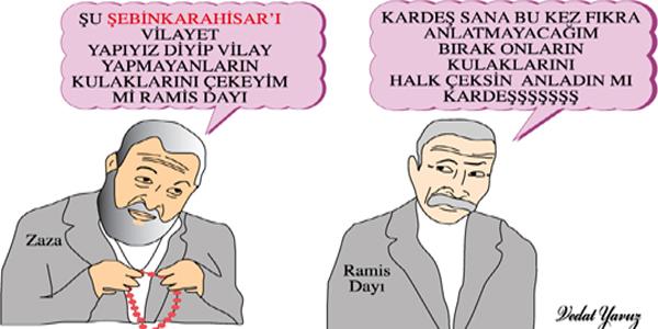Ramiz Dayı ve Zaza Şebinkarahisar'ı Konuştu