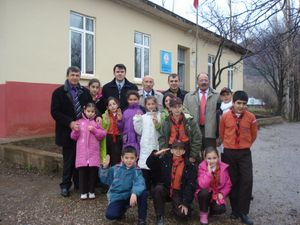 İstiklal  İlköğretim Okulu İzcileri Boş Durmuyor