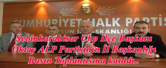 Chp Giresun Milletvekili Eşref Karaibrahim'in Basın Toplantısı