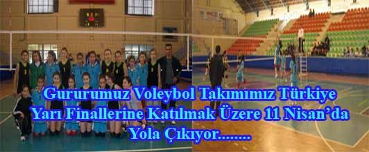 Gururumuz Voleybol Takımımız Türkiye Yarı Finallerine Gidiyor.