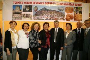 Türkiye Yardım Sevenler Derneği Şebinkarahisar Şubesinden Teşekkür