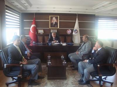Belediye Başkanı Şahin Yılancı'dan Suşehri Belediye Başkanına Ziyaret