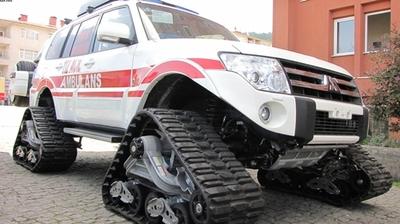 Alucra'ya Paletli Ambulans Tahsis Edildi