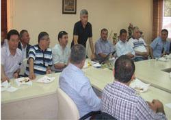 Şebinkarahisarlılar Derneği Şebinkarahisar Belediyesini Ziyaret etti