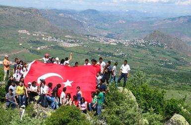 Şebinkarahisar MYO Öğrencileri Dikmen Tepesinde