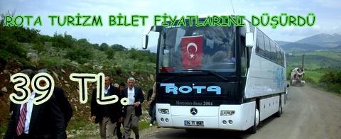 Rota Turizmden indirim, İstanbul 39 TL