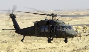 Erbaa'da Askeri Helikopter Düştü