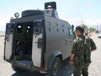 Erzincan'da 2 ayrı noktada sıcak temas