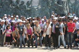 Suşehri'nden Öğrenciler Canakkale Şehitliğini gezdiler..