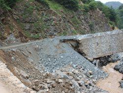 Kümbet Yolu'ndaki selin faturası:12.5 milyon TL