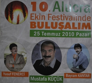 10. Alucra Ekin Festivali 25 Temmuz'da
