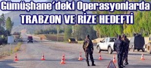 Trabzon ve Rize hedefti