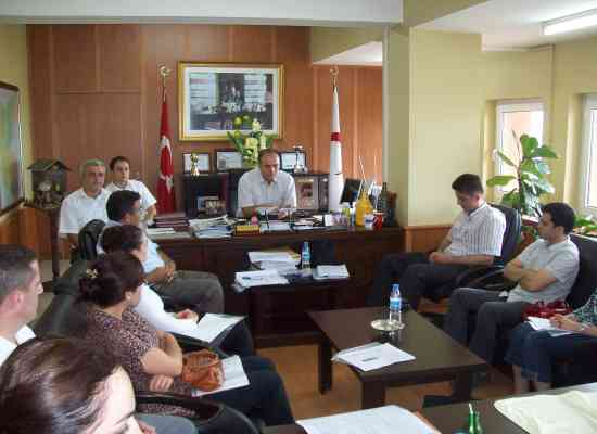 Sağlık Grup Başkanları Toplantısı Yapıldı