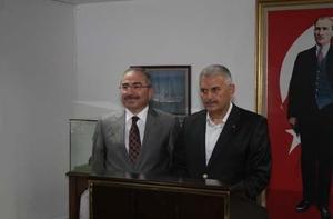 Ulaştırma Bakanı Binali Yıldırım Giresun'da