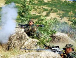 Tokat'ta çatışma: 1 asker yaralı