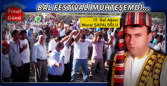Çamoluk Bal Festivali Coşkulu Geçti