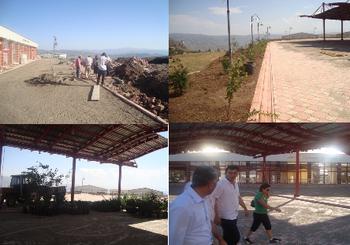 Yeni Otogar'da Çevre Düzenleme Çalışmaları