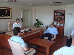 Rektör Vekili Belediye Başkanını Ziyaret Etti