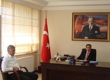 Belediye Başkanı'ndan Kaymakam'a Ziyaret