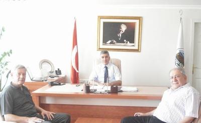 TVF Başkanı, Belediye Başkanı'nı Ziyaret Etti