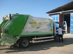Şebinkarahisar Belediyesine Çöp Toplama Aracı Hibe Edildi