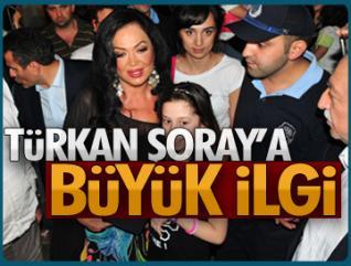 Sarıyerlilerden Türkan Şoray'a büyük ilgi