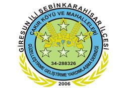 Şebinkarahisar Çakır Köyü Yardımlaşma Derneği Gençlik Kolları Kuruldu.